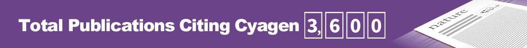 Total Publications Citing Cyagen: 3,600