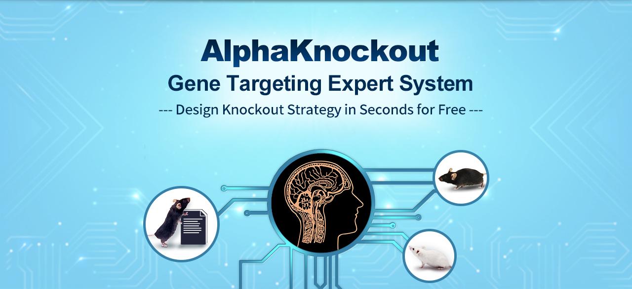 AlphaKnockout Gene Targeting Expert System